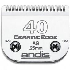 Нож Andis CeramicEdge #40 - 0,25мм.