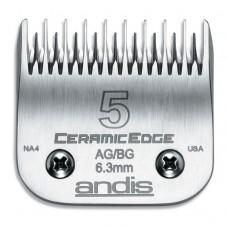 Нож Andis CeramicEdge #5 - 6,3мм. (филировочный)