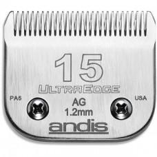 Нож Andis UltraEdge #15 - 1,2 мм., Стальной Нож для стрижки собак